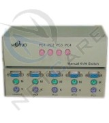 4P KVM SWITCH