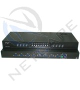 8Port Manua Push Buttuon KVM Switch without Cable (PS2)