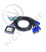 ATEN 4Port PS2 Kvm Switch