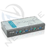 DKVM-4K 4-PORT PS/2 KVM SWITCH